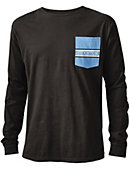 Stockton College Vintage Washed Long Sleeve Pocket T-Shirt