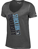 Stockton University Women's V-Neck T-Shirt