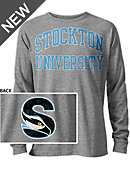Stockton University Long Sleeve Victory Falls T-Shirt