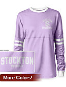 Stockton University Women's Long Sleeve RaRa T-Shirt