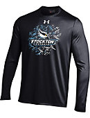 Stockton University Long Sleeve Nu Tech Performance T-Shirt