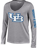 University at Buffalo Women's Long Sleeve V-Neck T-Shirt