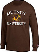 Quincy University Hawks Long Sleeve T-Shirt