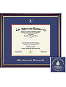 American University 11'' x 14'' Windsor Diploma Frame