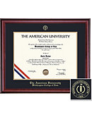 AU Classic School of Law Diploma Frame