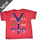 American University Ugly Sweater Toddler T-Shirt