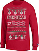 American University Ugly Sweater Long Sleeve T-Shirt