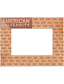 American University 4 in. x 6 in. Dad Frame