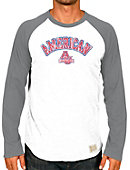 American University Baseball Raglan Long Sleeve T-Shirt