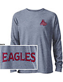 American University Tri-blend Twisted Long Sleeve T-Shirt