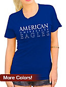 American University Eagles Women's Relaxed Fit T-Shirt