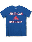 American University Eagles Athletic Fit T-Shirt