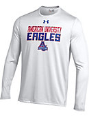 American University Eagles Long Sleeve Nu Tech Performance T-Shirt