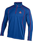 American University Eagles 1/4 Zip Long Sleeve T-Shirt