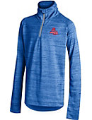 American University Eagles Youth Girls' 1/2 Zip Pullover