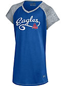 American University Eagles Baseball Youth Girls T-Shirt