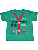 Marshall University Ugly Sweater Toddler T-Shirt