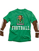 Marshall University Football Boy's Long Sleeve T-Shirt