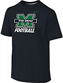 Nike Marshall University Thundering Herd Football Youth Dri-Fit T-Shirt
