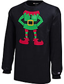 Marshall University Youth Christmas Long Sleeve T-Shirt