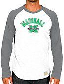 Marshall University Baseball Raglan Long Sleeve T-Shirt