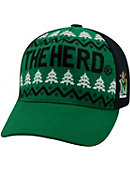 Marshall University Thundering Herd Christmas Cap