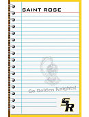 The College of Saint Rose 5'' x 8'' 50 Sheet Memo Pad 2-Pack