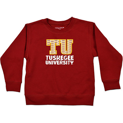 Tuskegee University Golden Tigers Toddler Crewneck Sweatshirt ...
