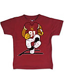 Tuskegee University Football Player Toddler T-Shirt