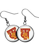 Tuskegee University Golden Tigers Domed Earrings