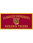Tuskegee University Golden Tigers 18 x 36 Banner