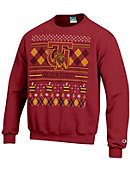 Tuskegee University Golden Tigers Ugly Sweater Crewneck Sweatshirt
