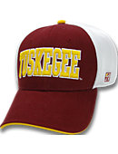 Tuskegee University Stretch Fitted Micro Mesh Cap
