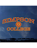 Simpson College Decal