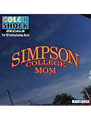 Simpson College Mom Decal