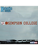 Simpson College Strip Decal