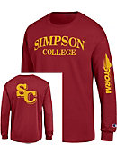 Simpson College Storm Long Sleeve T-Shirt