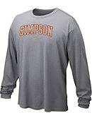 Nike Simpson College Dri-Fit Long Sleeve T-Shirt