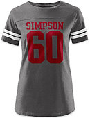 Simpson College Women's Sideline T-Shirt