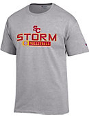 Simpson College Storm Volleyball T-Shirt