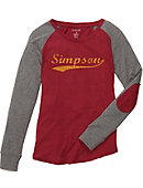 Simpson College Women's Long Sleeve T-Shirt