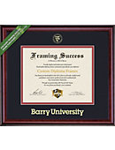 Barry University 8.5'' x 11'' Classic Diploma Frame
