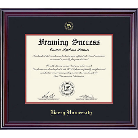 Product: Barry University 8.5'' x 11'' Elite Diploma Frame