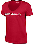 Barry University Women's V-Neck T-Shirt