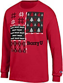 Barry University Ugly Sweater Long Sleeve T-Shirt