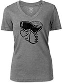 Barry University Buccaneers Women's V-Neck T-Shirt