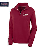 Barry University Women's 1/4 Zip Chelsea Fleece Pullover