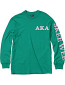 Chicago State University Alpha Kappa Alpha Long Sleeve T-Shirt