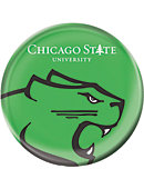 Chicago State University Cougars 3 in. Magnet Button