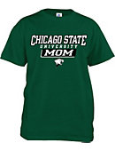 Chicago State University Cougars Mom T-Shirt
